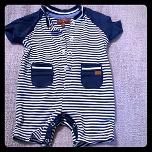 7 For All Man Kind Baby Romper